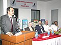 The Union Minister for Health and Family Welfare Dr.Anbumani Ramadoss, addressing at the Inauguration of the Image guided Radiotherapy at Grant Medical Foundation, Ruby Hall Clinic, Pune on December 4, 2005.jpg
