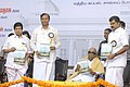 The Union Minister for Shipping, Road Transport and Highways, Shri T. R. Baalu, the Chief Minister of Tamil Nadu, Dr. M. Karunanidhi and the Minister of State (Independent Charge) for Statistics & Programme Implementation.jpg