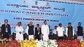 The Vice President, Shri M. Venkaiah Naidu at the inauguration of the new State Cancer Institute Block, at Kidwai Cancer Institute, in Bengaluru, Karnataka.JPG