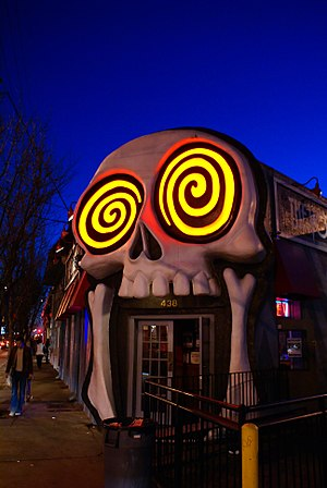 Eastside, Atlanta - The Vortex restaurant, Little Five Points