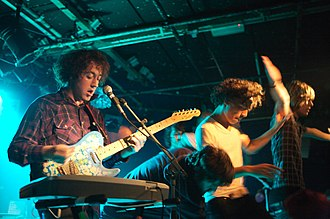 The Wombats - The Wombats performing in 2007