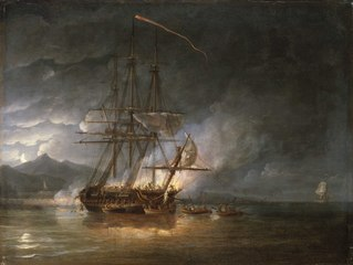 The cutting out of HMS Hermione, 24 October 1799