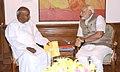 The former Prime Minister, Shri H.D. Deve Gowda calling on the Prime Minister, Shri Narendra Modi, in New Delhi on June 06, 2014 (1).jpg