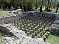 The hypocaust of the Great Baths complex, Ancient Dion (7094483903).jpg
