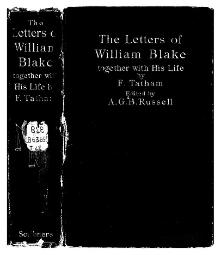 The letters of William Blake (1906).djvu