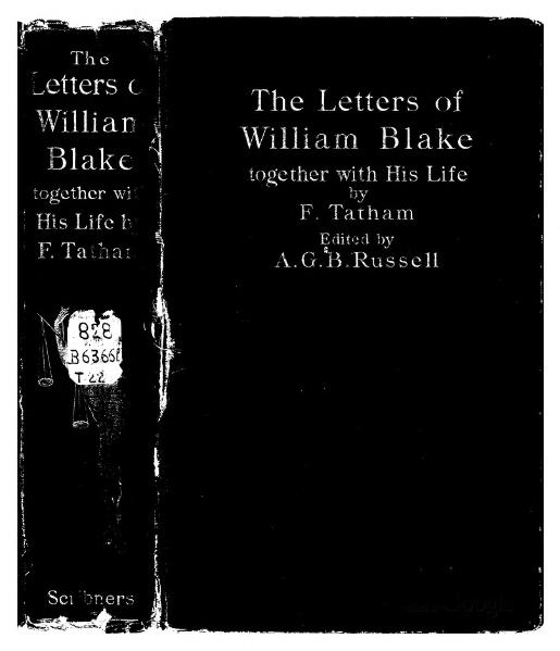 File:The letters of William Blake (1906).djvu