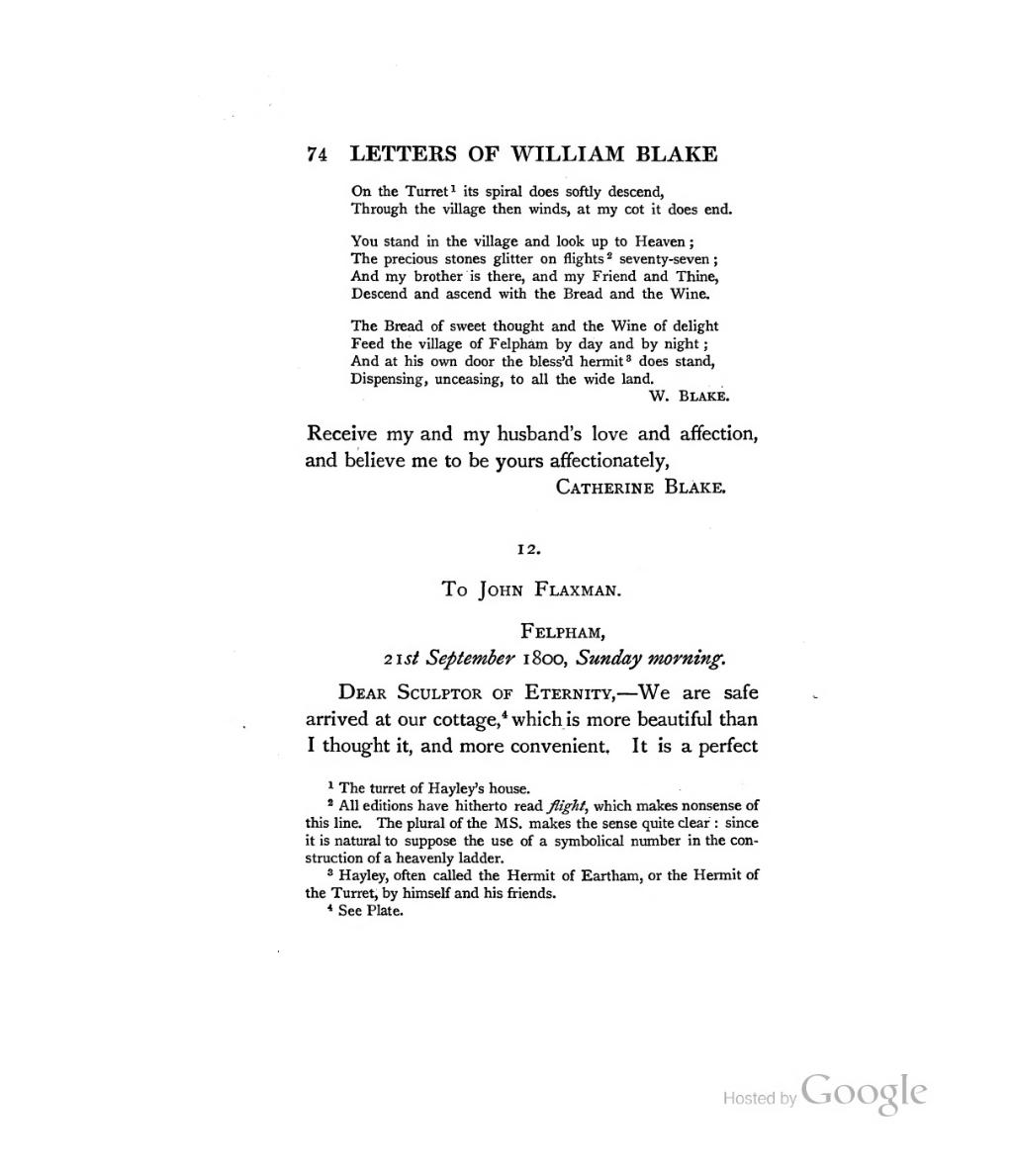Page:The letters of William Blake (1906) djvu/134
