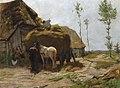 The provisioning of the hayloft by Herman Johannes van der Weele (1852-1930).jpg