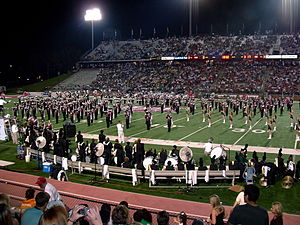 Veterans Memorial Stadium (Troy University) - Image: Thesound