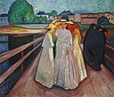 Thielska galleriet, Munch, På Bron.jpg