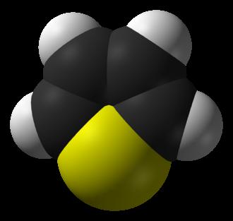 Thiophene - Image: Thiophene CRC MW 3D vd W