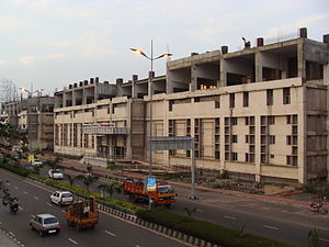 Thiruvanmiyur railway station - Thiruvanmiyur MRTS station