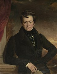 Portrait of Charles Frederick Schlaberg, London, 1827