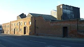 Mistley - Image: Thorn Quay Warehouse, Mistley, UK (Road Side)