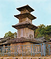 Three-story Stone Pagoda at Hwadal-ri in Sangju, Korea.jpg