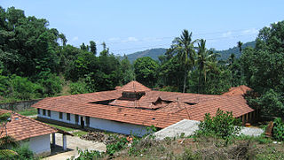 Thrissilery village in Kerala, India