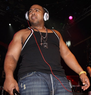 Part II (On the Run) - Timbaland (pictured) served as one of the producers of the song.