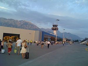 Tivat Airport - Image: Tivat