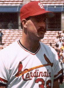 Todd Worrell 1982 Won The Rookie Of Year Award In 1986 Only Cardinals First Round Draft Pick To Do So