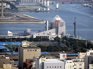 Port of Tokyo - Harumi passenger terminal