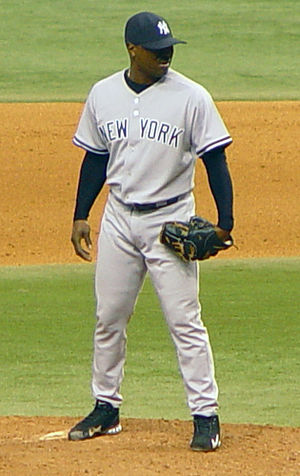 Tom Gordon - Gordon with the New York Yankees