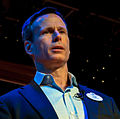 Tom Staggs on stage at the Disney Social Media Moms Conference (13781158823) (cropped).jpg