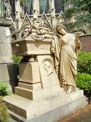 Marie Pleyel - Tomb in Laken Cemetery, Brussels