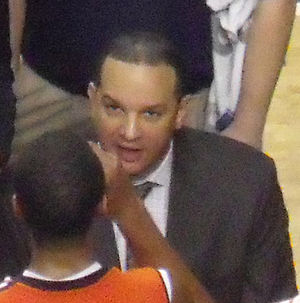 Tony Barbee - Barbee coaching in 2013