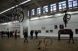 Tour de Minsk - Exhibition of drawings in Palace of Art, Minsk 23.10.2014 01.JPG