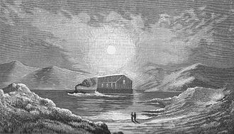 Tin tabernacle - A floating iron church in the Scottish Highlands (1840s)