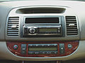 Toyota Camry Gen6 aftermarket Blaupunkt Hamburg MP57 installed.jpeg