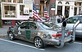 Toyota Camry art car Main Street downtown Hanover NH September 2015.jpg