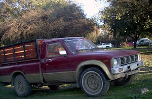 Toyota Stout - A 1981 model in Chile