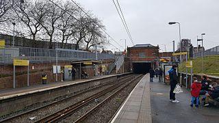 Trafford Bar tram stop