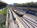 Train carrying track for Crossrail London 29.JPG