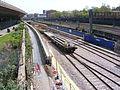 Train carrying track for Crossrail London 29.JPG