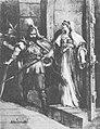Trajdzień, Hanna Mazavieckaja. Трайдзень, Ганна Мазавецкая (M. Andriolli, 1882).jpg