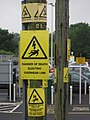 Transformer at Nailsea and Backwell Railway Station 3.JPG