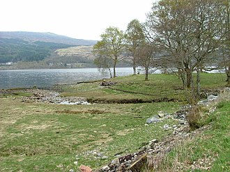 Blaich - Image: Trees by the Shore geograph.org.uk 410122