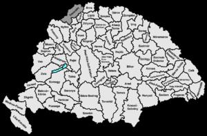 Trencsén County - Image: Trencsen