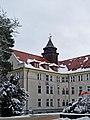 Treuenbrietzen Johanniter-Krankenhaus Turm Wasserbehaelter 2021.jpg