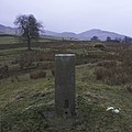 Triangulation pillar, Tomamhoid, Inverness-shire - geograph.org.uk - 116489.jpg