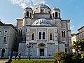 Trieste Tempio serbo-ortodosse della Santissima Trinità e di San Spiridone Außen Lato Nord 1.jpg