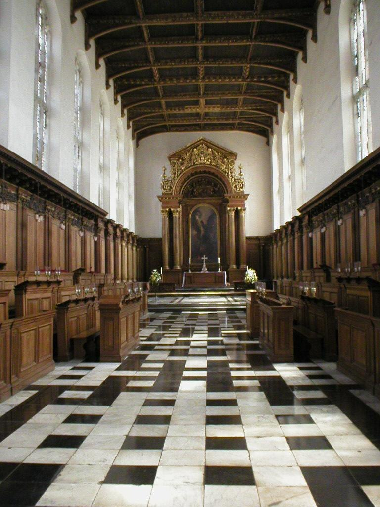 Trinity College, Cambridge - chapel