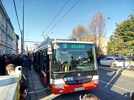 Trolleybuses in Prague - WikiMili, The Free Encyclopedia