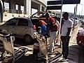 Trolleys à l'aéroport de Accra2.jpg