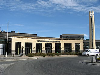 Trøndelag Commuter Rail - Trondheim Central Station was upgraded in 1995 and acts as the center-point of the commuter rail