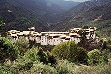 Lo dzong di Trongsa