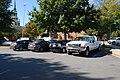 Trucks vans next to Hearn Plaza. (2967264585).jpg