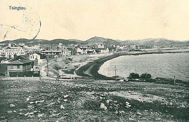 historical postcard of Tsingtau
